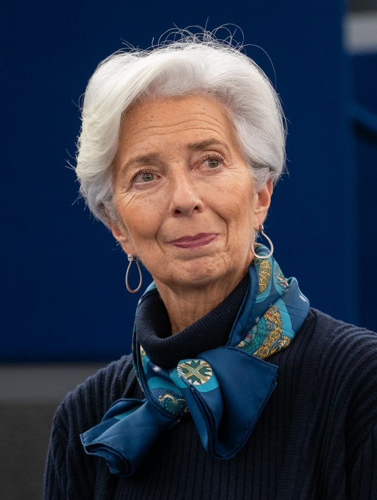 A presidente do Banco Central Europeu (BCE), Christine Lagarde