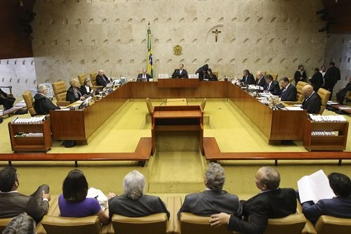 Esquerda X governo federal marca volta do Plenário do Supremo